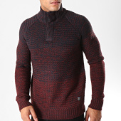 /achat-pulls/mz72-pull-col-montant-soggy-bleu-marine-bordeaux-degrade-chine-198405.html