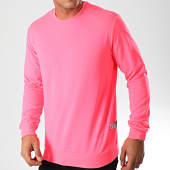 /achat-sweats-col-rond-crewneck/classic-series-sweat-crewneck-k8696-rose-fluo-198602.html