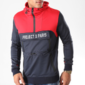 /achat-sweats-col-zippe/project-x-sweat-col-zippe-capuche-1920044-bleu-marine-rouge-198503.html