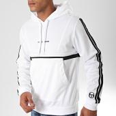 /achat-sweats-capuche/sergio-tacchini-sweat-capuche-a-bandes-darren-38235-blanc-noir-198567.html