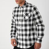 /achat-chemises-manches-longues/brave-soul-chemise-a-carreaux-manches-longues-69jackd-blanc-noir-198694.html