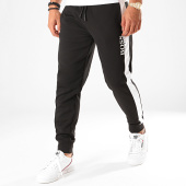 /achat-pantalons-joggings/hugo-boss-pantalon-jogging-a-bandes-fashion-50420377-noir-blanc-198675.html