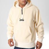 /achat-sweats-capuche/timberland-sweat-col-zippe-capuche-fourrure-mouton-1yn4-beige-198717.html