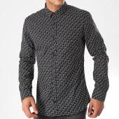 /achat-chemises-manches-longues/hugo-by-hugo-boss-chemise-manches-longues-ero3-50421174-noir-blanc-198774.html