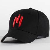 /achat-casquettes-de-baseball/ninho-casquette-ni-logo-noir-rouge-198748.html