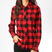 /achat-chemises-manches-longues/urban-classics-chemise-manches-longues-femme-tb1280-carreaux-rouge-noir-198797.html