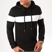 /achat-sweats-capuche/lbo-sweat-capuche-bicolore-855-noir-blanc-198932.html