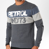 /achat-sweats-col-rond-crewneck/petrol-industries-sweat-crewneck-309-bleu-marine-chine-198940.html