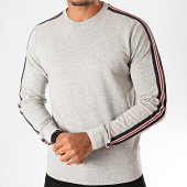/achat-sweats-col-rond-crewneck/petrol-industries-sweat-crewneck-a-bandes-336-gris-chine-198941.html