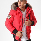 /achat-bombers/superdry-bomber-capuche-fourrure-everest-m5000039a-rouge-198902.html