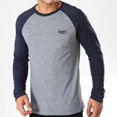 /achat-t-shirts-manches-longues/superdry-tee-shirt-manches-longues-orange-label-texture-baseball-m6000010a-bleu-marine-bleu-chine-198905.html