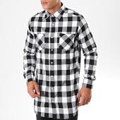 /achat-chemises-manches-longues/urban-classics-chemise-manches-longue-a-carreaux-tb1000-noir-blanc-198835.html