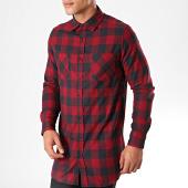 /achat-chemises-manches-longues/urban-classics-chemise-manches-longues-a-carreaux-tb1000-noir-bordeaux-198836.html