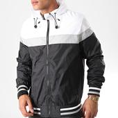 /achat-vestes/urban-classics-veste-zippee-capuche-tb2104-noir-blanc-gris-198857.html