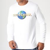 /achat-sweats-col-rond-crewneck/universal-sweat-crewneck-logo-blanc-199005.html