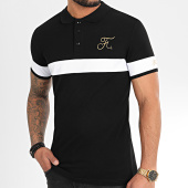 /achat-polos-manches-courtes/final-club-polo-gold-edition-tricolore-avec-broderie-or-307-noir-199065.html