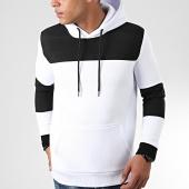 /achat-sweats-capuche/lbo-sweat-capuche-outdoor-bimatiere-850-blanc-noir-199059.html