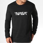 /achat-t-shirts-manches-longues/nasa-tee-shirt-manches-longues-quote-noir-199008.html