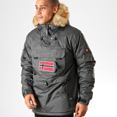 /achat-parkas/geographical-norway-parka-fourrure-barbier-gris-anthracite-199185.html