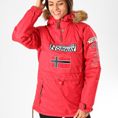 /achat-vestes/geographical-norway-veste-outdoor-capuche-fourrure-femme-bridget-rouge-199191.html