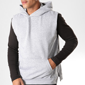 /achat-sweats-capuche/ikao-sweat-capuche-sans-manches-f690-gris-chine-199171.html