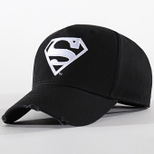 /achat-casquettes-de-baseball/superman-casquette-logo-noir-blanc-199246.html