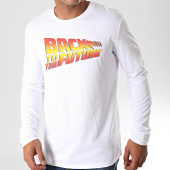 /achat-t-shirts-manches-longues/back-to-the-future-tee-shirt-manches-longues-title-blanc-199286.html
