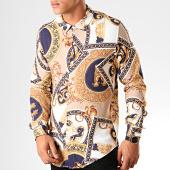 /achat-chemises-manches-longues/frilivin-chemise-manches-longues-renaissance-682823-beige-bleu-marine-blanc-199338.html