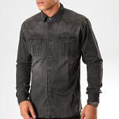 /achat-chemises-manches-longues/frilivin-chemise-manches-longues-jean-ca-618-gris-anthracite-199342.html