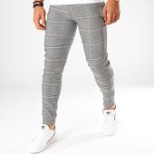 /achat-pantalons-carreaux/frilivin-pantalon-a-carreaux-1624-noir-blanc-199354.html
