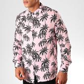 /achat-chemises-manches-longues/frilivin-chemise-manches-longues-floral-bm1152b-rose-noir-199361.html