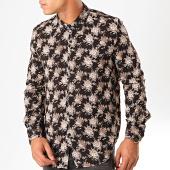 /achat-chemises-manches-longues/frilivin-chemise-manches-longues-floral-bm1152b-noir-199372.html