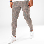 /achat-pantalons-carreaux/frilivin-pantalon-carreaux-1646-ecru-noir-marron-199374.html