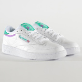 /achat-baskets-basses/reebok-baskets-club-c-85-mu-fv2589-white-emeral-grape-199220.html