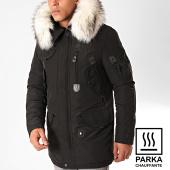 /achat-parkas/comme-des-loups-parka-chauffante-fourrure-copenhagen-noir-blanc-199541.html