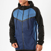 /achat-sweats-zippes-capuche/geographical-norway-sweat-zippe-capuche-galon-bleu-roi-bleu-clair-199382.html