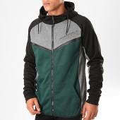 /achat-sweats-zippes-capuche/geographical-norway-sweat-zippe-capuche-galon-vert-gris-chine-199383.html