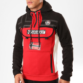 /achat-sweats-zippes-capuche/geographical-norway-sweat-col-zippe-capuche-fitakol-noir-rouge-199388.html