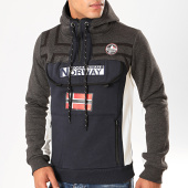 /achat-sweats-zippes-capuche/geographical-norway-sweat-col-zippe-capuche-fitakol-bleu-marine-gris-anthracite-chine-199390.html