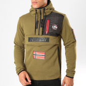 /achat-sweats-zippes-capuche/geographical-norway-sweat-col-zippe-capuche-feretico-vert-kaki-199418.html