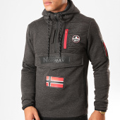 /achat-sweats-zippes-capuche/geographical-norway-sweat-col-zippe-capuche-feretico-gris-anthracite-chine-199419.html