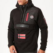 /achat-sweats-zippes-capuche/geographical-norway-sweat-col-zippe-capuche-feretico-noir-199420.html