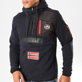 /achat-sweats-zippes-capuche/geographical-norway-sweat-col-zippe-capuche-feretico-bleu-marine-199422.html