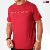 /achat-t-shirts/tommy-hilfiger-tee-shirt-logo-gold-1679-bordeaux-199498.html