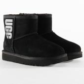 /achat-bottes-boots/ugg-bottines-femme-classic-mini-ugg-rubber-logo-1108231-black-199405.html
