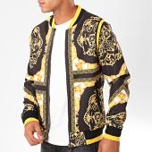 /achat-vestes/zayne-paris-veste-zippee-renaissance-e49-noir-jaune-blanc-199455.html