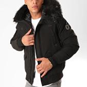 /achat-vestes/comme-des-loups-veste-zippee-capuche-fourrure-texas-noir-199570.html