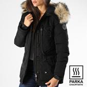 /achat-parkas/comme-des-loups-parka-chauffante-femme-fourrure-montreal-noir-beige-199573.html