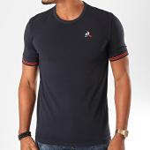 /achat-t-shirts/le-coq-sportif-tee-shirt-essential-raye-1922540-bleu-marine-199624.html