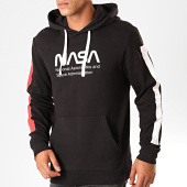 /achat-sweats-capuche/only-and-sons-sweat-capuche-a-bandes-nasa-noir-199603.html